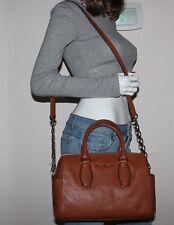 NWT MICHAEL Michael Kors Vanessa Leather Medium Chin Satchel Bag  ~ Luggage