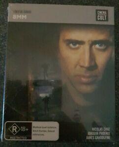 8mm Blu-ray + Slipcover Brand New Sealed