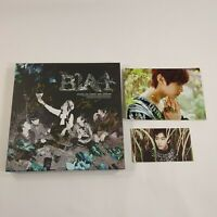 B1A4 K-POP 3rd Mini Album [In The Wind] Signed CD Booklet Gongchan Photocard
