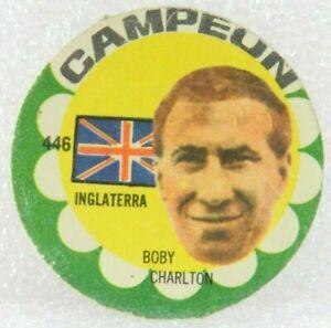 Bobby Charlton ORIGINAL FOOTBALL SOCCER 1966 CARD N° 446