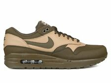 Nike Air Max 1 Leather Premium SZ 13 Dark Loden Desert Camo Black 705282-300