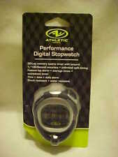 Athletic Works Performance Digital Stopwatch Aw-3915R New Factory Sealed