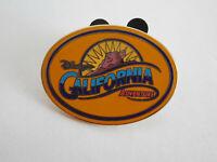 Disney California Adventure Gold Oval Logo Souvenir Pin DCA Disney Grizzly Peak