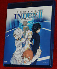 A CERTAIN MAGICAL INDEX II PART TWO EPISODES 13-24  2 BLU-RAY FUNIMATION ANIME