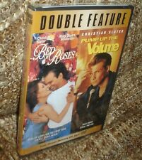 BED OF ROSES & PUMP UP THE VOLUME DOUBLE FEATURE DVD, NEW & SEALED, REGION 1 DVD