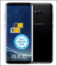 Samsung Galaxy S8 G950FD 64GB DUAL SIM/ Factory Unlocked (Black) + UK Warranty