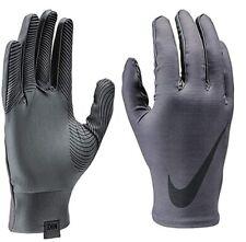 Nike  |  Men's Large Pro Base Layer Grey Cold Weather Running Training Gloves