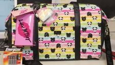Betsey johnson Large Rainbow Panda Duffle Bag