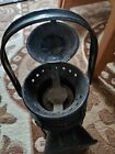 Vintage railroad lantern kerosene