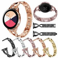 Diamond fashion Metal Bracelet Wrist Strap For Samsung Galaxy Watch Active 40mm