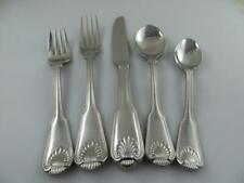 5 Piece Place Setting LONDON SHELL Towle Germany Stainless Steel Flatware