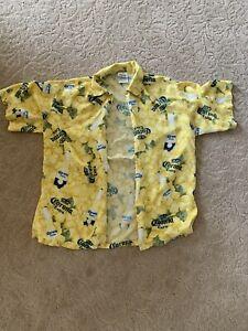 Vintage Corona Hawaiian Shirt Large