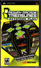 Midway Arcade Treasures Entended Play PSP New Sony PSP