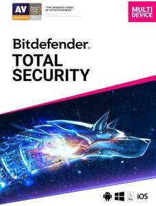 🔥Bitdefender (Total Security + VPN) 1 Year🔥