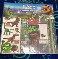 Disney Pixar The Good Dinosaur Page Kit 142 Pcs Paper Stickers Die Cut