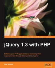 jQuery 1.3 with PHP By K Verens