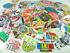 Lot of 5 Brand Name Skateboard Vinyl Stickers Decals Large Medium Small Size Mix