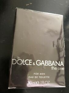 The One by Dolce & Gabbana 1 oz 30 ml EDT Cologne Spray for Men New inBox SEALED
