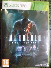 Murdered Soul Suspect Nuevo precintado Xbox 360 Acción totalmente en castellano