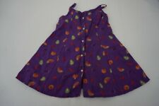 American Girl Pleasant Company Lawn Party Birthday Dress Only Purple Fruit GOT
