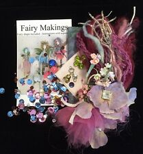 KIT -  Making Fairies kit Fairy Doll Angel some vintage pieces batik lace flower