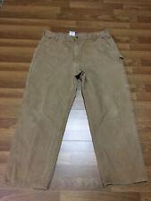 MENS 40 x 30 - Vtg Carhartt B11 Duck Industrial Ranch Pants Dungaree Fit USA