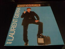 "COFFRET ""LAURENT GERRA - L'INTEGRALE EN 3 DVD"" Olympia 99, Palais des sports, Fl"