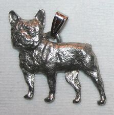 French Bulldog Dog Harris Fine Pewter Pendant Usa Made