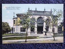 Early 1900's The Carnegie Public Library in Oklahoma City, Ok Pc