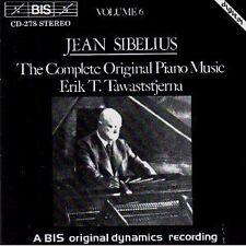Sibelius Klaviermusik Vol. 6 Erik Tawaststjerna Neu