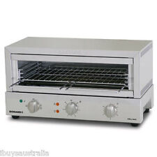Roband Commercial Grill Max 8 Slice Top/Bottom Heat 3520W Toaster Griller GMX815