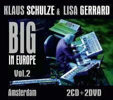 KLAUS SCHULZE & LISA GERRARD - Big In Europe Vol. 2 - Amstedam 2 CD + 2 DVD Mad