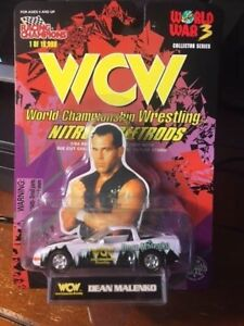 1998 NEW WWE/WCW 1/64th SCALE DIE-CAST NITRO-STREETROD- DEAN MALENKO [MOC]