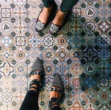 Heritage Longleat Vintage Moroccan Victorian Multi Coloured Wall & Floor Tiles