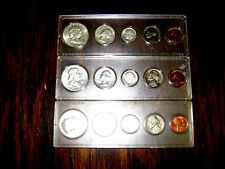 1962 1963 and 1964 Silver Uncirculated Sets Halfs Quarters Dimes Nickels & Cents