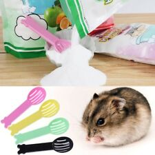 Pet Hamster Bath Spoon Small Animal Sand Spoon Hamster Guinea Pig Cleaning Tool