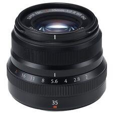 Fuji Fujifilm Fujinon XF 35mm F2 R WR Neu! Schwarz!