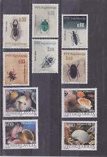 yugoslavia 1965,86 ,two sets MNH Sc 810/5,1953/6      m1646