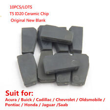 10PCS T5-ID20 Blank Transponder Chip for car keys Avaliable change to ID11,12,13