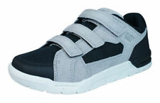 Scarpe grigio medio in pelle per bambini dai 2 ai 16 anni