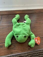 legs the frog beanie baby
