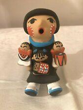 Jemez Pueblo Native American Pottery Story Teller T. Tosa