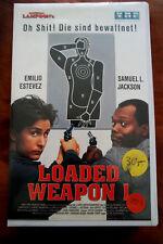 Loaded Wepon 1 - Emilio Estevez / Samuel L. Jackson - VMP 1994 VHS Video xx
