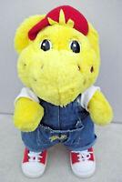 "Barney The Dinosaur 13"" BJ Wearing Denim Dungarees Soft Plush Toy"