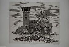 Original-Radierungen (1900-1949) aus Deutschland mit Architektur-Motiv