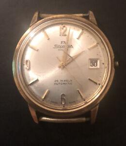 Vintage Silvana Automatic Watch Movements ETA2472 Working Read Description