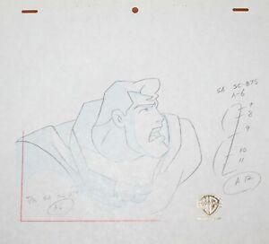 Original production drawing  - Superman
