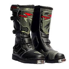 NEW Motorcycle Street Bike Speed Biker Long Racing Boots Size US 8 9 9.5 10.5 11