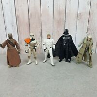 "4"" Kenner / Hasbro Star Wars Retro Collection loose 5 Figure - Not Vintage"