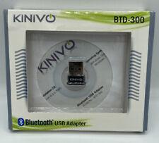 Kinivo BTD-300 Bluetooth 3.0 USB Adapter for Windows & Mac - BRAND NEW